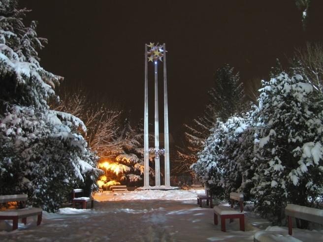 Зима в Казанлък, снимка Уикипедия