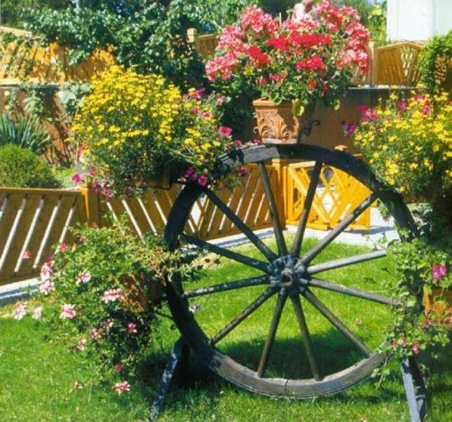 Красиво украсено колело