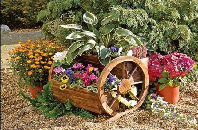 Красива украса в градината