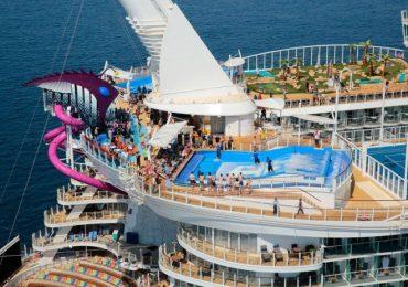 Това е най-големият пътнически кораб в света (снимки)