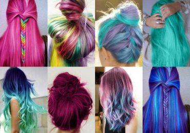 Unicorn Color в косата – новата мода!