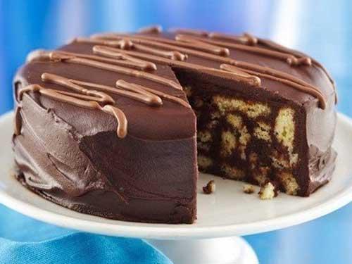 Рецепта за лесна шоколадова торта с бисквити без печене!
