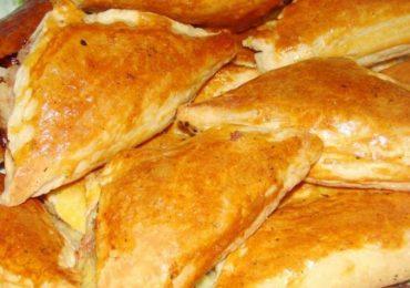 Пирожки със солена плънка – топят се в устата!