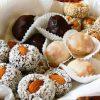 Бонбони от сушени плодове и ядки без захар и брашно