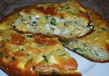 Великолепен пай със зелен лук и варени яйца – ще си оближете пръстите!