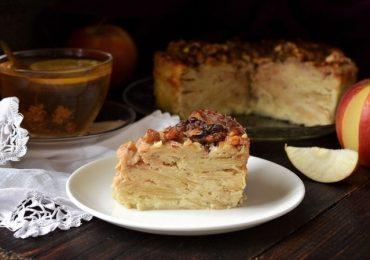 Невидим ябълков сладкиш – вкусен пирог готов за нула време!