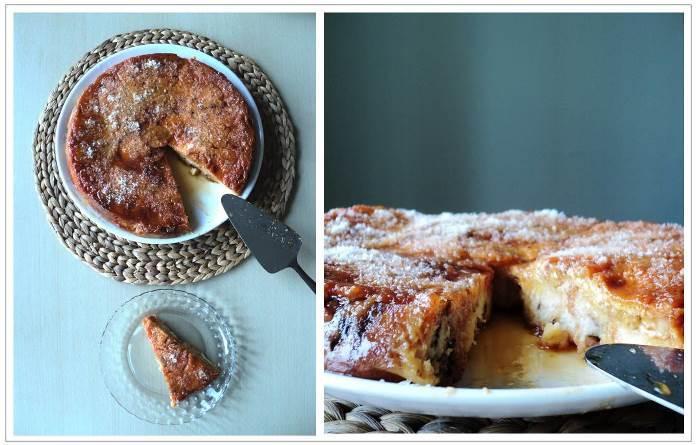 Млечен сладкиш от козунаци или сладки кифли с яйца и мляко – бърза и лесна рецепта