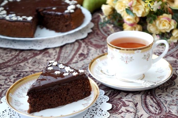 Лесен какаов кекс с шоколадова заливка – от серията бързо, лесно, вкусно и много ефектно за бързо приготвяне и неочаквани гости