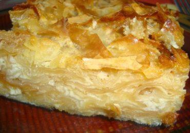 Сладкиш с домашна юфка, препечена на сач – великолепна рецепта с мляко и яйца за бърз десерт