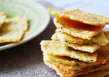 Солени бисквити – крекери с ким – подробна рецепта със снимки