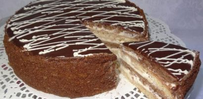Сметанова торта с 6 блата – вижте как се прави подробно със снимки