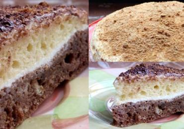 Бърза торта в два пласта направете лесно по тази рецепта – става за нула време
