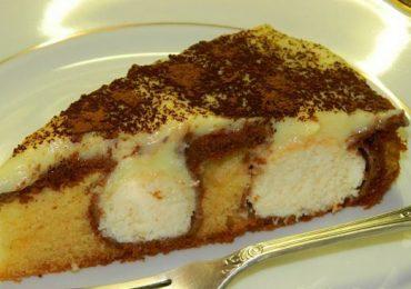 Сладкиш нежност – нещо между пай и торта – удивително сладкарско творение, вижте как се прави