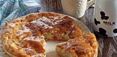 """Солен кекс с колбас и сирене – това нещо като го сложите на масата, ще чуете """"УРА!"""" – подробна рецепта със снимки"""