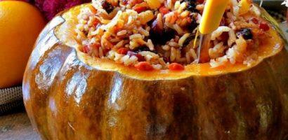 Пълнена тиква с ориз, кайма и зеленчуци на фурна – ето как се прави тази божествена вкусотия