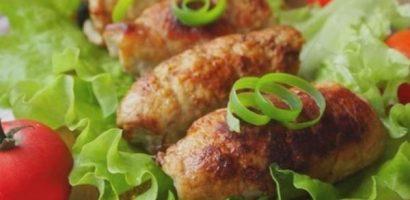 Ролца от свинско месо с пълнеж от гъби и зеленчуци – разкошно ястие – стъпка по стъпка със снимки