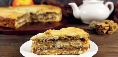 Ябълков многопластов кекс – супер лесно се прави и става много ароматен и сочен – подробна рецепта със снимки