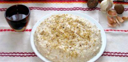 Постна разядка с боб и орехи