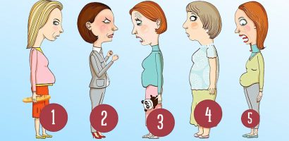 Кой тип е вашият корем и как да се избавите от него?