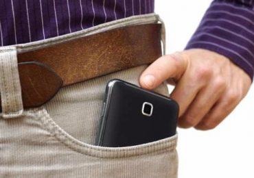 Не дръжте мобилния си телефон на тези места