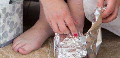 Алуминиевото фолио върши чудеса за здравето ви