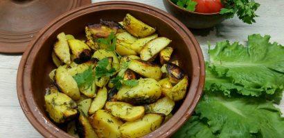 Божествено вкусни картофи за раз време